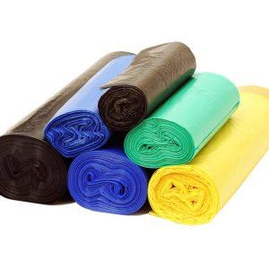 Endüstriyel Çöp Poşetleri 75x90 Büyük Boy Renkli