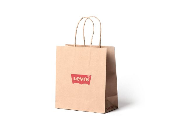 Kraf Taşıma Çantalrı Logo Baskı