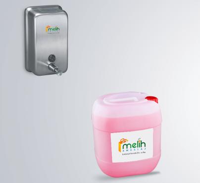 sıvı sabun ve sabunluk